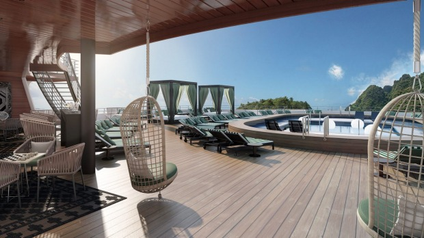 Pacific aria and pacific eden p o 39 s new luxe ships offers for High end cruise ships