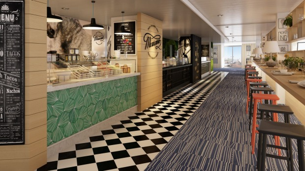 Foodie Experience: Pacific Aria And Eden Passengers Can Try A Range Of Food  Outlets Available Part 66