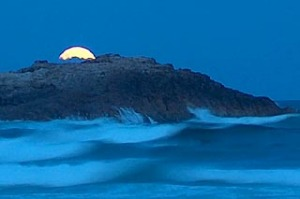 Nature's playground ... Crowdy Bay beaches are breathtaking by moonlight.