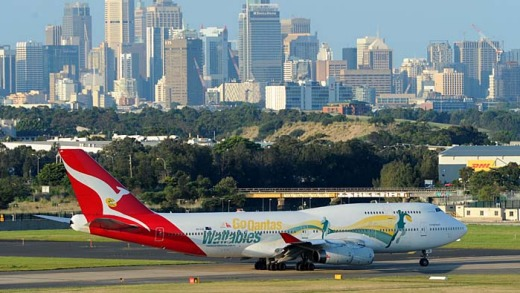 Taking off: Qantas services returned to normal last week, and now the airline is offering passengers who were disturbed ...