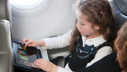 Airlines, including Jetstar (pictured), are looking at tablet computers as alternatives to installing costly, heavy, ...