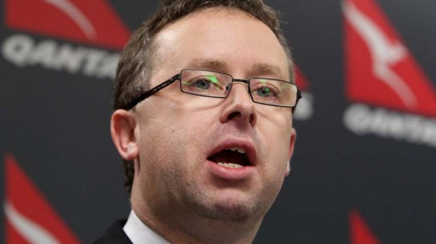 Alan Joyce … ''the winners out of this are our customers''.