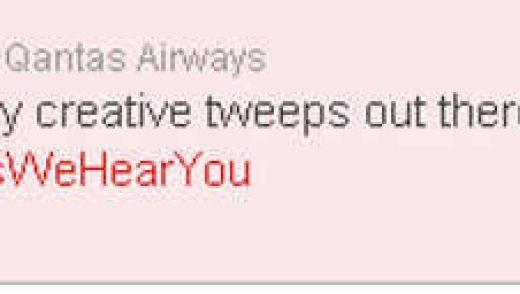 The airline's response on Twitter this afternoon.