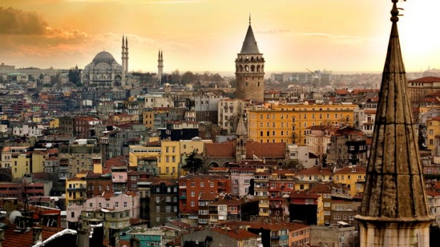 Turkish delights ... Istanbul shines.