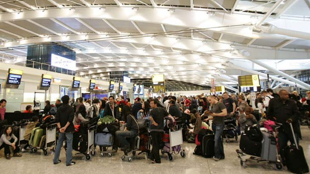 Passengers arriving at Heathrow have faced long queues at border control.