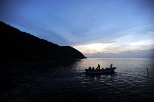 In all, last year Raja Ampat welcomed only 4515 visitors -- one for every 1000 hectares -- each paying up to $US5000 ...