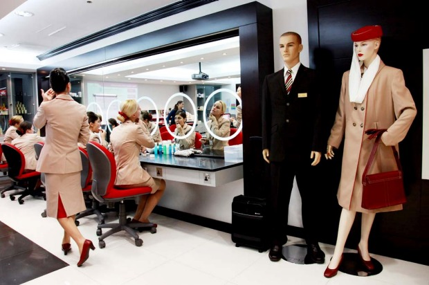 Emirates needs to boost flight attendant numbers as it increases the number of flights.