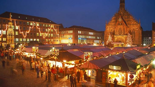 Quality street ... Nuremberg's Christkindlesmarkt, where cheap plastic trash and piped music are banned, comes alive as ...