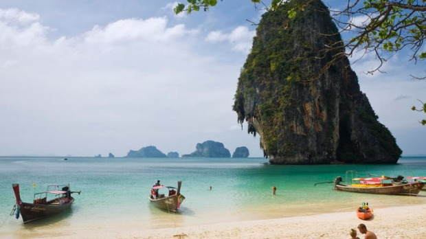 Far and wide ... Phra Nang island, Thailand.