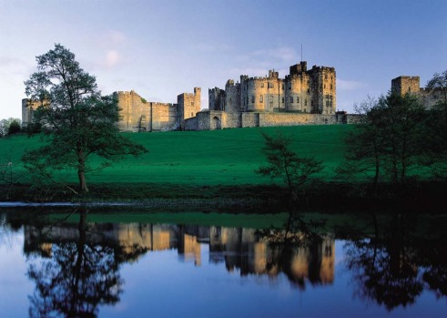 ALNWICK CASTLE, ENGLAND. The Duke and Duchess of Northumberland call this not-so-humble place home. It started out as a ...
