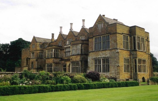 BROUGHTON CASTLE, ENGLAND. A quintessentially romantic English castle. It's been the setting for The Madness of King ...