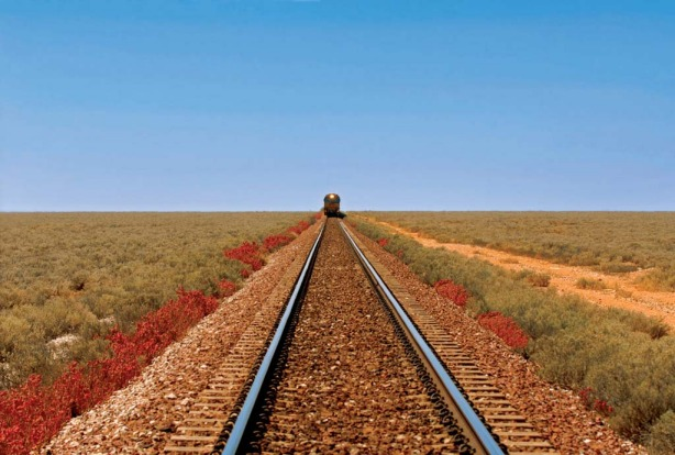There is something mystical about travelling the outback on a train.