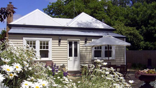Old-style comfort ... cottage and garden.