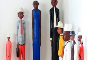 Michael Visontay story about his collection of  African statues.
