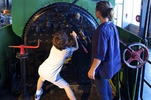 All aboard ... there are more than 100 historic trains and a cutting-edge museum at Trainworks.