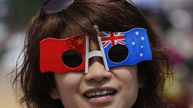 The number of Chinese tourists visiting Australia is rising rapidly.