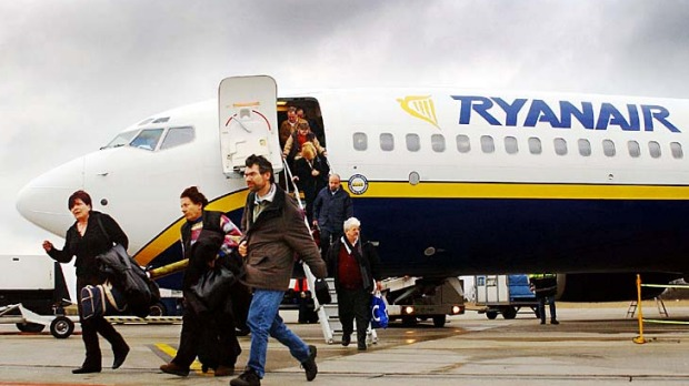 Expensive ... a return booking online for a family of four on Ryanair costs an extra $72.