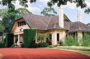 At your service ... Campaspe Country House is a destination for relaxation.