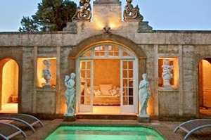 Almost French ... Deux Belettes is modelled on a 16th-century chateau.