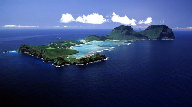 Howe beautiful ... Lord Howe island.