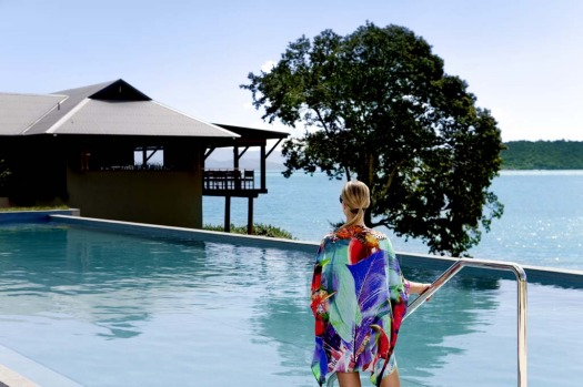 SWIM AND THE SCENERY. Qualia Resort, Hamilton IslandThe pool at this elegant resort, nestled on the secluded northern ...