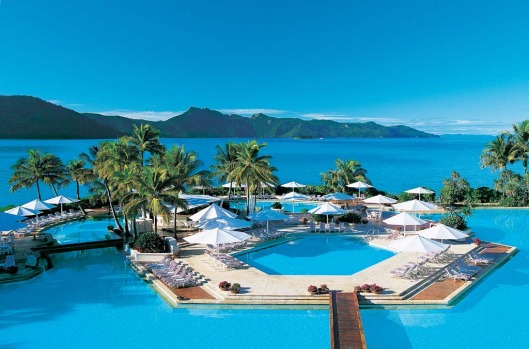 SWIM IN AUSTRALIA'S LARGEST. Hayman Island, Whitsunday Islands. This 16 hectare Queensland resort on its own island has ...