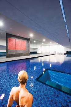SWIM AND SHOP: Fraser Suites, Sydney. Not to be outdone by Melbourne, Sydney also has its own swim and window-shop pool. ...