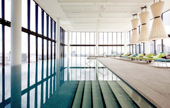 SWIM AND THE CITY. Crown Metropol, Melbourne. This ultra-modern $300 million hotel features a stunning sky-high swimming ...
