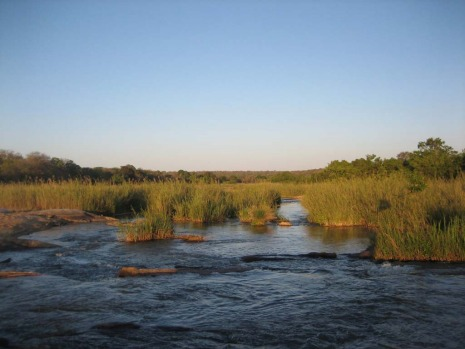 A river runs through it ... Sabi Sands Game Reserve is named for the Sabi and Sand river that run through it.