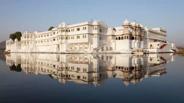 Reel deal ... the Lake Palace hotel.