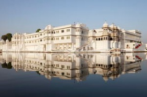 Lake Palace Hotel, Udaipur, India. Photograph by Getty Images.