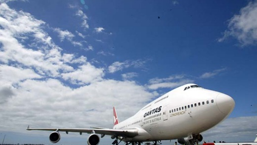 Qantas still maintains a small fleet of Boeing 747-400s.