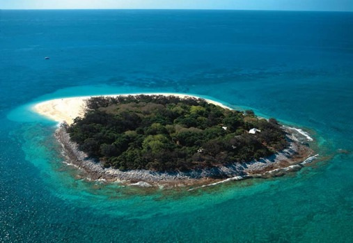 Wilson Island, Queensland. This tiny coral cay in the Great Barrier Reef, about 72km off the Queensland Coast, is home ...