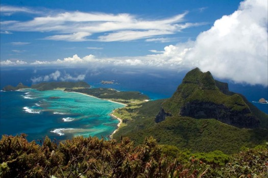Lord Howe Island, New South Wales. The island, which is about two hours by plane from Brisbane and Sydney, is a World ...
