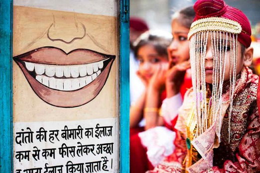 <b>Tilak Nagar:</b> C'mon kids, at least you're not at the dentist.