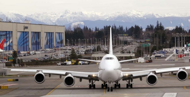 Boeing, which competes for orders with rival Airbus , has taken 36 orders - nine from non-airlinecustomers - for the ...