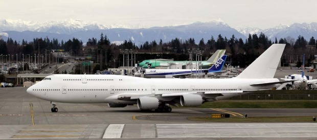 The delivery of the 747-8 Intercontinental - Boeing's largest and most recognizable commercial airplane - caps a ...