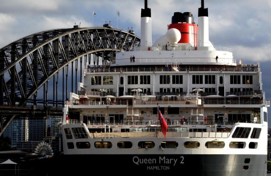 The Queen Mary 2.