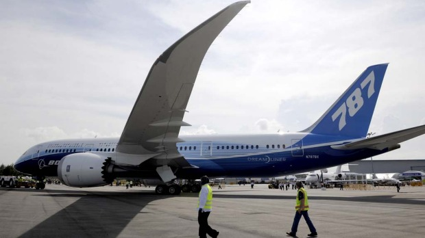 The first airliner to be made of carbon fibre, not aluminium, the Dreamliner promises more fuel efficiency – a saving of 20 per cent - which is the big selling point for airlines. It also offers 20 per cent less carbon dioxide emissions than comparable aircraft.
