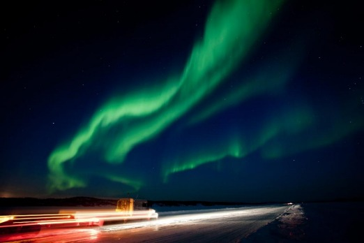 """Yellowknife, which is situated directly under the auroral """"oval"""", has some of the best northern lights viewing in the world."""