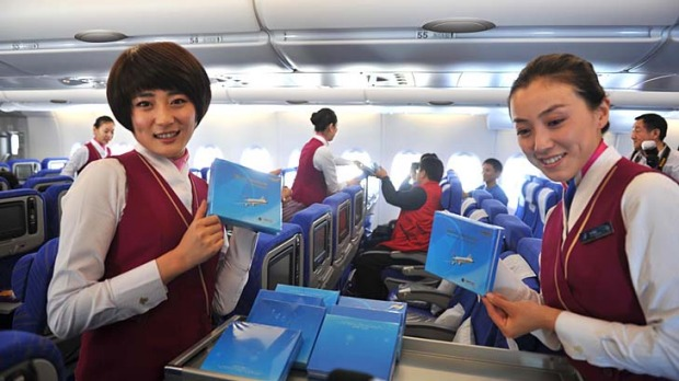 China Southern ... the Chinese take service seriously.