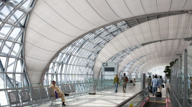 Bangkok's futuristic Suvarnabhumi airport was hailed as a model for the region when it opened six years ago, but it is ...