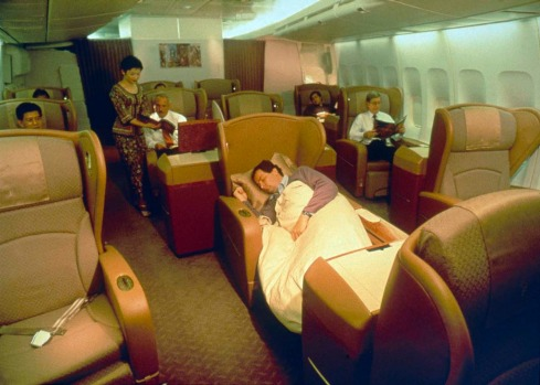 Singapore Airlines introduced its first class 'SkySuites' to its 747s in 1998.