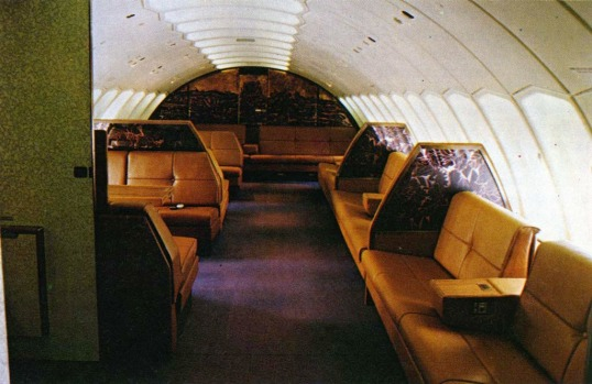 In 1976, Singapore Airlines redesigned its first class upper-deck to create 'slumberettes' - 6 custom divans that turned ...