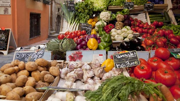 Cook's tour ... market delights in Provence.