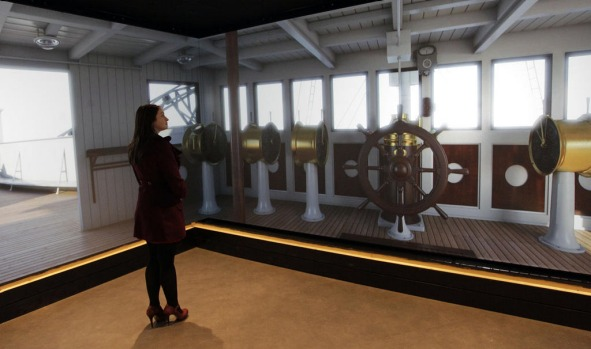 The largest Titanic visitor attraction in the world opened in the ship's Belfast birthplace on Saturday, some 100 years ...