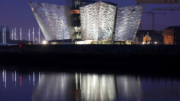 The largest Titanic visitor attraction in the world opened in the ship's Belfast birthplace on Saturday, some 100 years after the doomed liner was built in the same yards. Titanic Belfast is a striking aluminium-clad building which tells the famous ship's story through special effects, interactive screens and a ride. Organisers hope the $A149 million centre can boost tourism in the British province, which was torn apart by sectarian strife for three decades until the late 1990s.