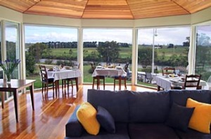 River flavour ... savour the views from the breakfast room.