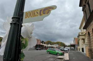 Clunes has been declared an official book town.