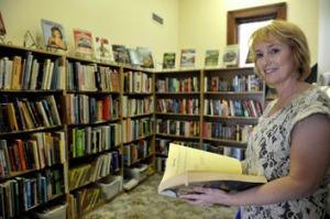 Leanne Camp is owner of The Gold and Relics Book Store.